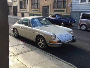 1973 Porsche 911T Coupe Silver Metallic